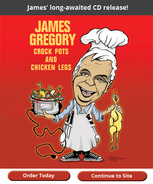 About Comedian James Gregory